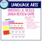 ELA Skills Review Jenga