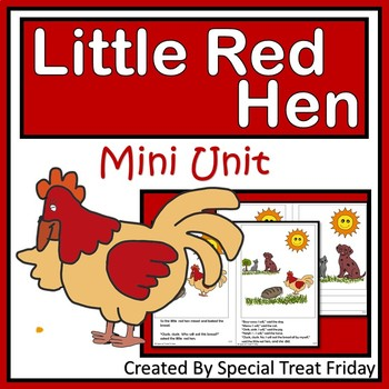 ELA Small Group Mini Unit Little Red Hen