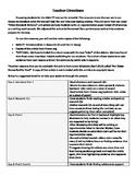 ELA Smarter Balanced *Practice* Performance Task- Full Length!