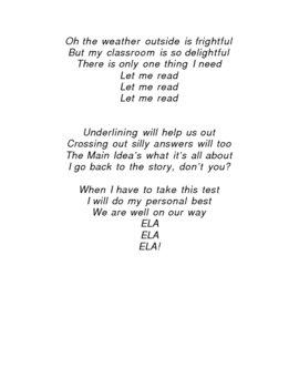 ELA Song
