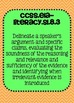 Common Core ELA Speaking and Listening Standards Posters 8