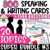 ELA Speaking and Writing | Year-long Resource | Middle&Hig