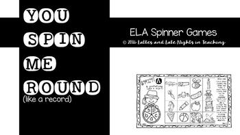 ELA Spinner Fun