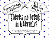 ELA Spring Break Review Packet {Common Core Aligned}