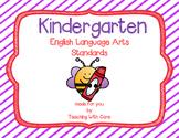 Kindergarten Standards ELA