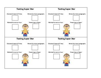 ELA Standardized Test Motivator