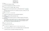 ELA Standardized Test Review Vocabulary Quizzes (Grammar L