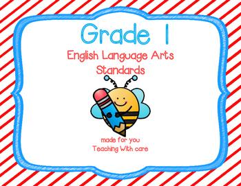 First Grade Standards ELA