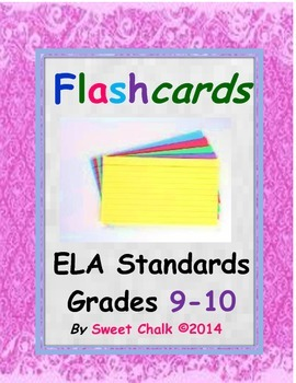 ELA Standards for Grades 9-10 (Standards 1, 2, 3, 4, 5, 6, 7 and 9)