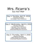 ELA State Examination Test Prep (Middle School)