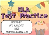 ELA State Test Practice for SMARTBOARD - English Language Arts - Smart Notebook