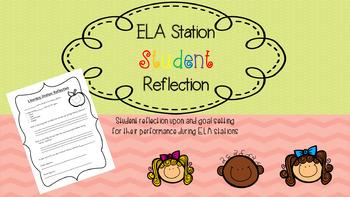 ELA Station Student Reflection and Goal Setting
