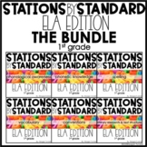ELA Stations by Standard Bundle First Grade