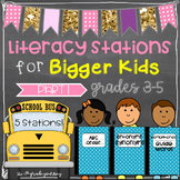 ELA Stations for Bigger Kids {ABC Order, Synonyms, Antonyms + More}