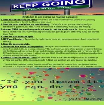 ELA Strategies Poster