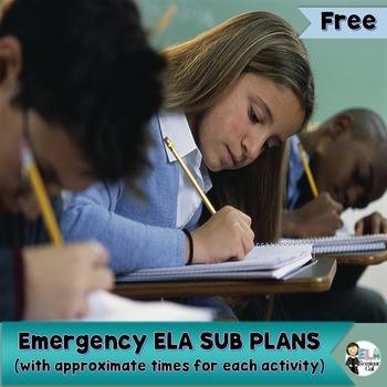 ELA Substitute Plans