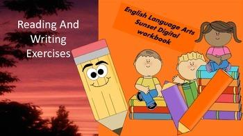 ELA Sunset PowerPoint Workbook
