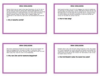 ELA TASK CARDS: ALL OF MY TASK CARDS GROWING BUNDLE: Grades 3 - 6