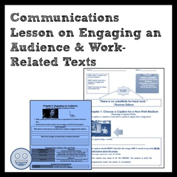ELA Engaging the Audience & Work Related Texts