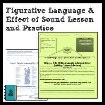 ELA: Figurative Language, Effect of Sound, Logical Para. Order