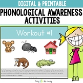 Phonological & Phonemic Awareness Lessons and Activities for First Grade