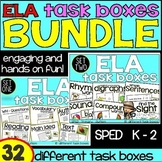 ELA Task Boxes - BUNDLE