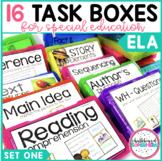 ELA Task Boxes: Set one - Primary