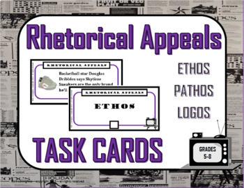 ELA Task Cards Bundle - 339 pages! (MIDDLE SCHOOL)