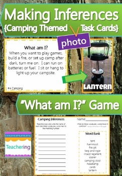 ELA Task Card Bundle {with PHOTOS for differentiation}