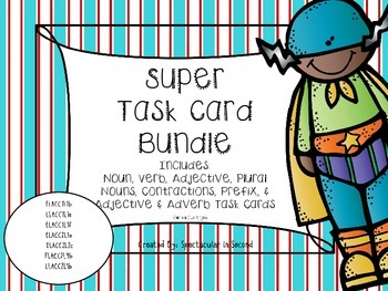 ELA Task Card Bundle - Common Core Aligned