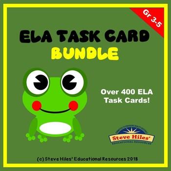 ELA Task Card Bundle: Grades 3-5