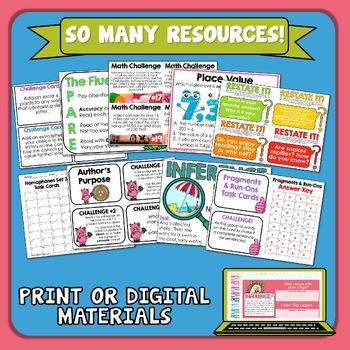 Task Card Variety Pack