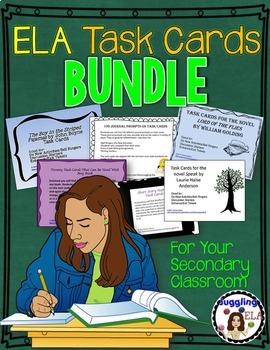 ELA Task Cards Bundle