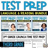 ELA Test Prep: 3rd Grade Reading and Language Test Prep Bundle