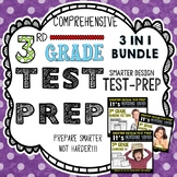 ELA Test Prep: 3rd Grade Reading and Language Test Prep Bundle