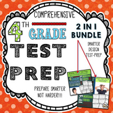 ELA Test Prep: 4th Grade Bundle - Reading and Language Test Prep