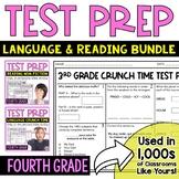 ELA Test Prep: 4th Grade Bundle - Reading and Language Test Prep