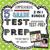 ELA Test Prep: 5th Grade Reading and Language Test Prep Bundle