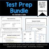 ELA Test Prep Bundle Grades 4-6