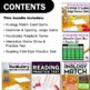 ELA Test Prep Bundle 6th Grade: 4 Games & 1 Reading Practice Test FSA