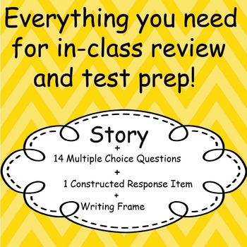 ELA Test Prep Bundle: Fairy Tale Edition