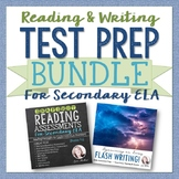 ELA Test Prep Bundle: Reading & Writing Practice and Assessment Activities