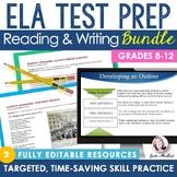 ELA Test Prep Bundle: Reading & Writing Practice and Asses