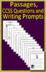 ELA Test Prep Collection Reading and Writing Practice Tests and 12 Review Games