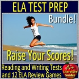 ELA Test Prep Bundle - Reading and Writing Practice Tests