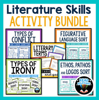 ELA Test Prep Bundle: Writing with the RACE Strategy, Literature Skills, & more!