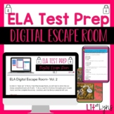 ELA Test Prep- Digital Escape Room- Vol. 2
