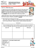 ELA Test Prep:  Dr. Seuss Mixed English Review
