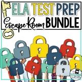 ELA Test Prep Escape Room Bundle