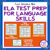 ELA Test Prep - Find Someone Who - Language Skills